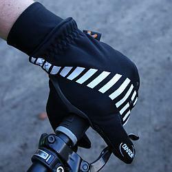 Rękawiczki Vezuvio czarno-szare